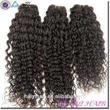 Usine Prix Kinky Curl Cheveux Weave Brésilienne Vierge Cheveux Humains Tangle Gratuit