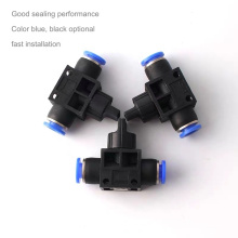 Connecteur de raccord de tuyau de commutateur de soupape à main pneumatique HVSF