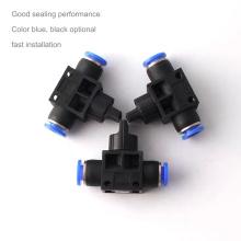 Conector de encaixe da mangueira do interruptor da válvula manual pneumática HVSF