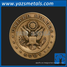 personalizar medallas de metal, personalizado de alta calidad medalla de ejército de estados unidos