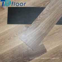 Planches en bois de plancher arrière de luxe de PVC de modèle en bois