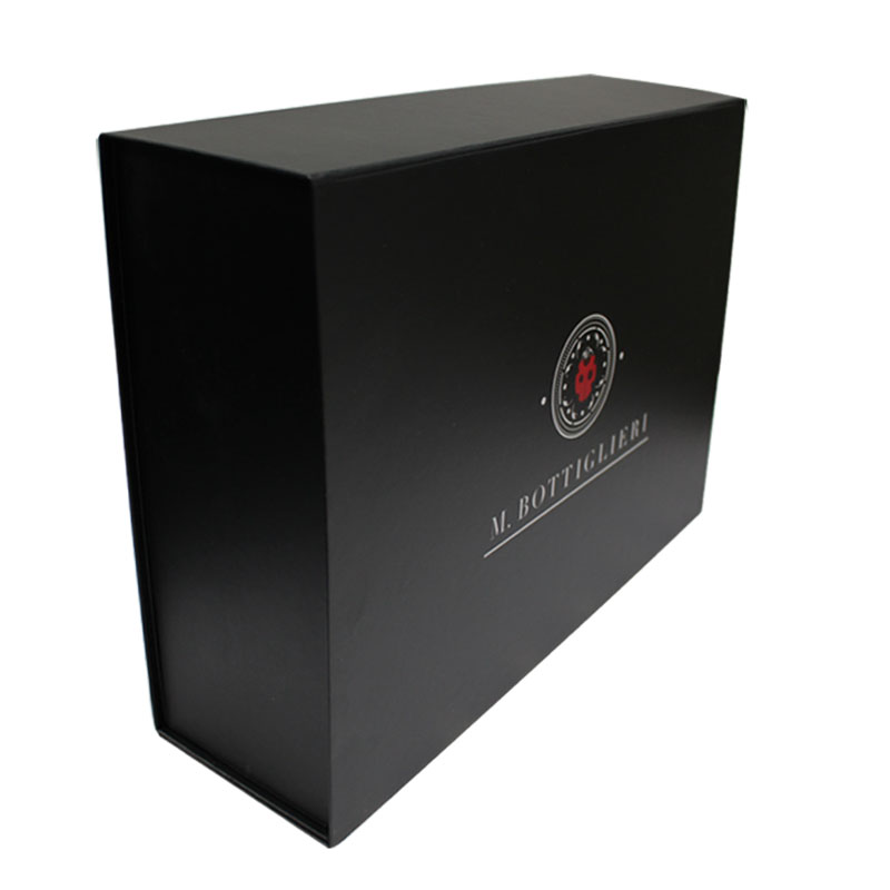 custom amazing flat magnetic closure gift packaging box