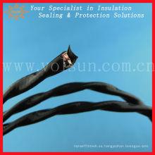 Cable eléctrico fluoroplástico resistente a altas temperaturas