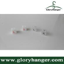 Красочные пластиковые вешалка Площадь Sizer (GLPZ003)