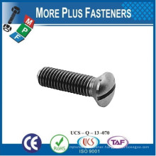 Made in Taiwan DIN 964 Slotted Raised DIN 965 Cross Recessed Countersunk Flat Head DIN 966 Crossed Recess Countersunk Oval Head