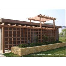 Barato y fino, respetuoso del medio ambiente, Green WPC Pavilion