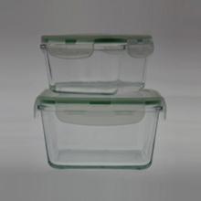 Продовольственный контейнер из боросиликатного стекла S / 2 Square