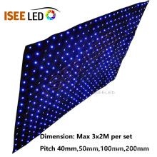 Lumières d'affichage de rideau en étape de LED