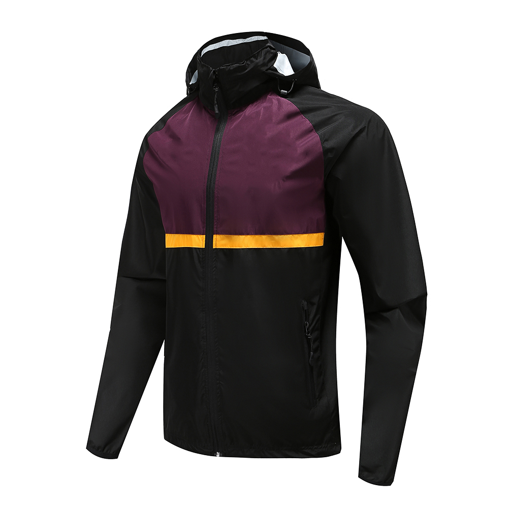 Rugby Wear Zip Up Hoodies Polyester