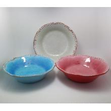 (BC-MB1009) High Quality Reusable Imitation Porcelain Melamine Bowl