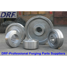 Forged Wheels (Factory direct sales alloy steel forged wheels)