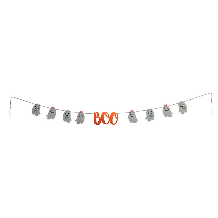 Halloween Boo Bunting Flags