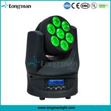 Osram 7PCS 15W RGBW bewegliche LED-Effekt-Lichter