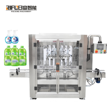 Automatic disinfectant antibacterial 75% alcohol based waterless cleansing hand sanitizer gel liquid soap filling machine