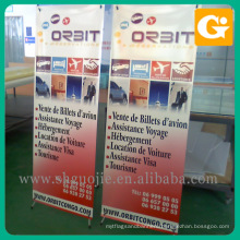 Wholesale outdoor 80 x 180 cm advertising size x banner stand