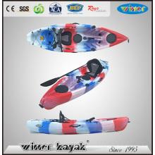 New Style Single Plastic Fishing Kayak with Jet Power