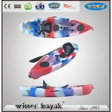 Vencedor Novo Projetado Único Sot Plastic Pesca Kayak