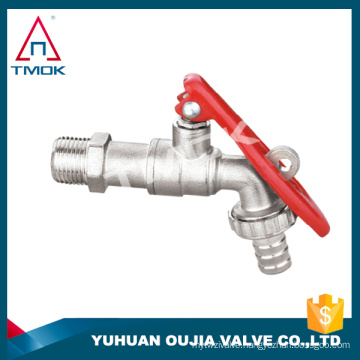 wash bibcock with forged polishing cw617n NPT threaded connection PTFE seated beass bibcock