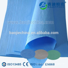 Medical Sterilisation Wrap Crepe Paper for Hospital CSSD