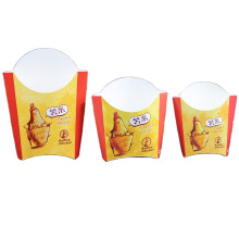 Cardboard hot sell take away disposable Chinese brown paper packaging for food