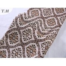 2017 El diseño de tejido tejida oval Jacquard (FTH32073B)