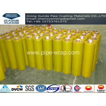 Cold Applied Tape For The Exterior Of Special Section Fitting For Steel Water Pipeline