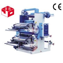 Machine d'impression flexographique à deux couleurs de haute qualité