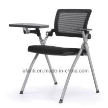 Cadeira de treinamento de estudo de dobramento de malha de alta qualidade com mesa (T1501C)
