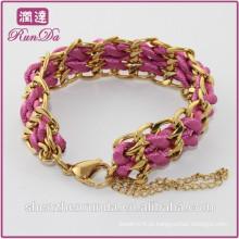 Alibaba nova chegada mulheres corda pulseira