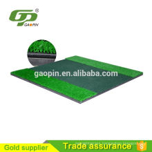 GP-3D mini size portable indoor or outdoor practice golf chipping mat artificial grass rubber golf training pad