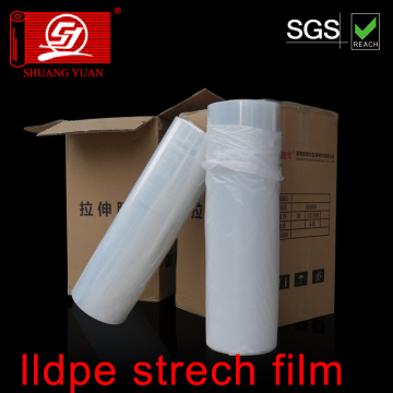 Film d'emballage de film extensible LLDPE de Virgin Material
