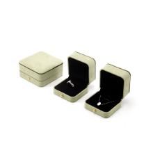 Caja de embalaje de joyería de terciopelo