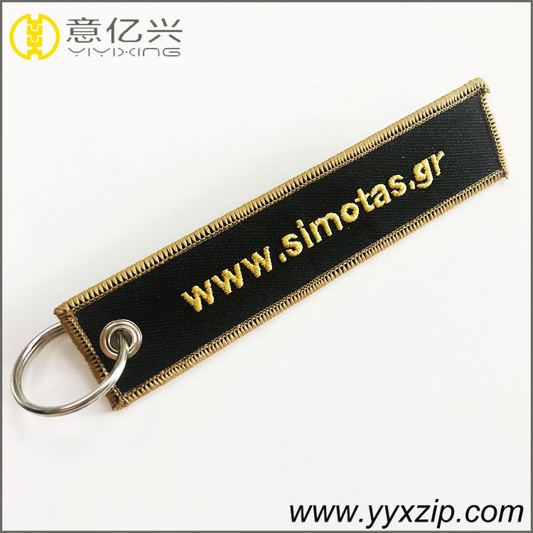 different woven key ring