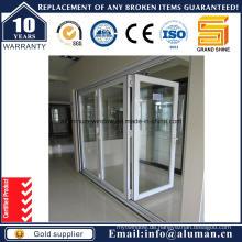Innen- / Außen-Bi-Falt-Glas-Tür
