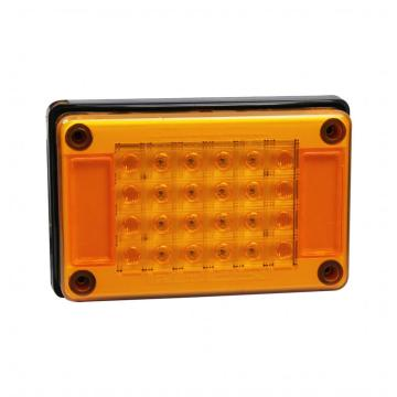 100% Penunjuk Rectangle Kalis Air Lampu