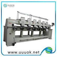 Computerisierte 6 Köpfe gewerblichen Stickmaschine