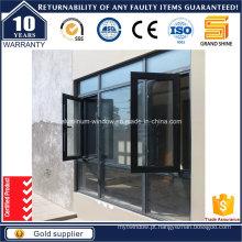 Design novo da grade da janela do casement do projeto novo (série 6789)