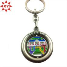 Porte-clés tournant avec logo fabriqué en Chine (XY-mxl91002)