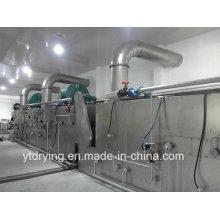 Machine à sécher à la ceinture pour l'industrie des fruits et de la chimie