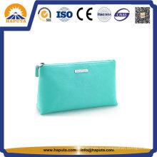 Bolsa de cosméticos de cuero PU portátil fácil (HB-6665)