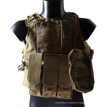 Airsoft armée militaire chasse Vest Molle Combat Nylon veste tactique