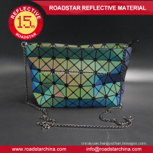 foldable prismatic reflective women's bag