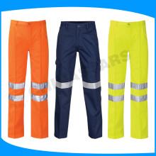 Pantalones de seguridad reflectantes de alta visibilidad