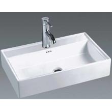 Russie Salle de bains lavabos en céramique d'art lavabo (7170)