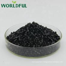 Natural Leonardite Extract Cylindrical Fertilizer Humic Acid