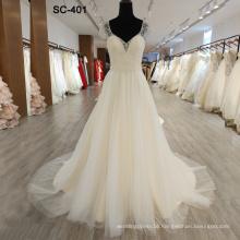 Muslim Wedding Crystal Kaftan 2019 Wedding Dress