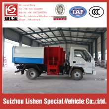 Side Loading Crane Bucket Garbage Truck Forland