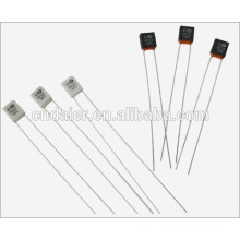 Daier RH-01 Thermal Fuse Black/White 2A 250VAC 2 Bend Pin With 55 degree~320 degree