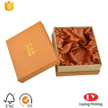 boîte de cadeau de papier cadeau personnalisé