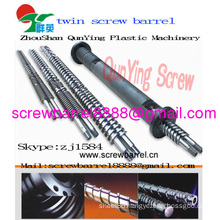 Plastic Sheet Extruder Machine Twin Parallel Screw Barrel Cincinnati Type Parallel Twin Screw Barrel